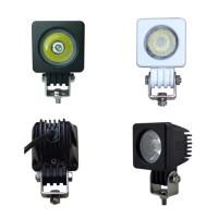 10W 12V 24V Eckig CREE LED Arbeitsscheinwerfer Zusatzscheinwerfer Schwarz/Weiß IP67