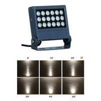 18W 1800K-6000K, 36W DC24V 4in1 RGBW DMX512 Slim LED Fluter